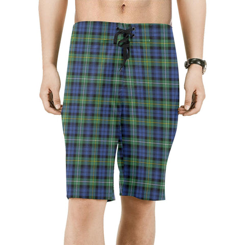 Campbell Argyll Ancient Tartan Board Shorts | scottishclans.co