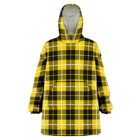 Barclay Dress Modern Snug Hoodie - Unisex Tartan Plaid Front