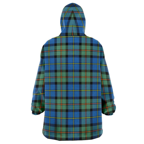 MacLeod of Harris Ancient Snug Hoodie - Unisex Tartan Plaid Back