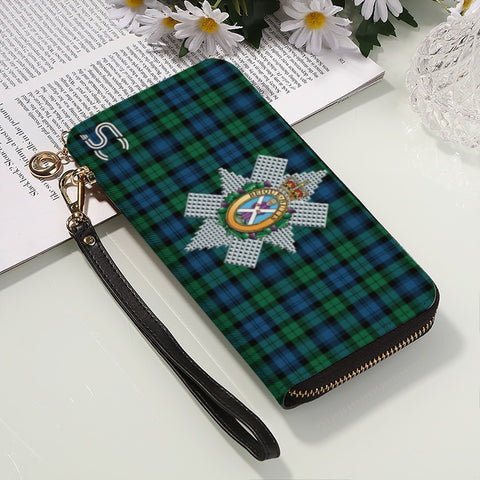 Blackwatch Ancient Crest Tartan Zipper Wallet™