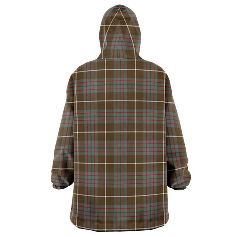 MacIntyre Hunting Weathered Snug Hoodie - Unisex Tartan Plaid Back
