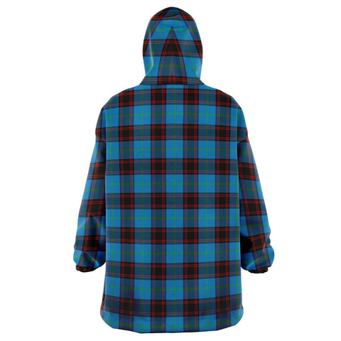 Home Ancient Snug Hoodie - Unisex Tartan Plaid Back