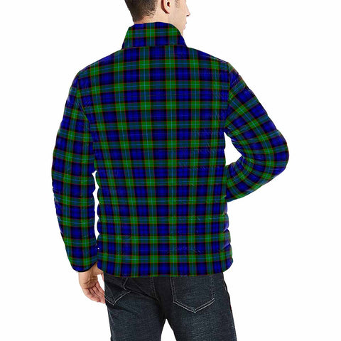 Sempill Modern Clan Scotland Tartan  Men's Lightweight Bomber Jacket K9