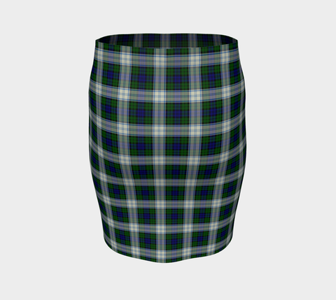 Tartan Fitted Skirt - Blackwatch Dress Modern | Special Custom Design