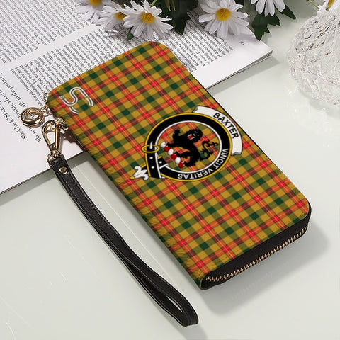 Image of Baxter  Crest Tartan Zipper Wallet™