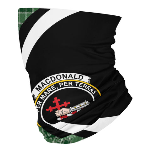 Image of MacDonald Lord of the Isles Hunting Tartan Neck Gaiter Circle HJ4 (USA Shipping Line)