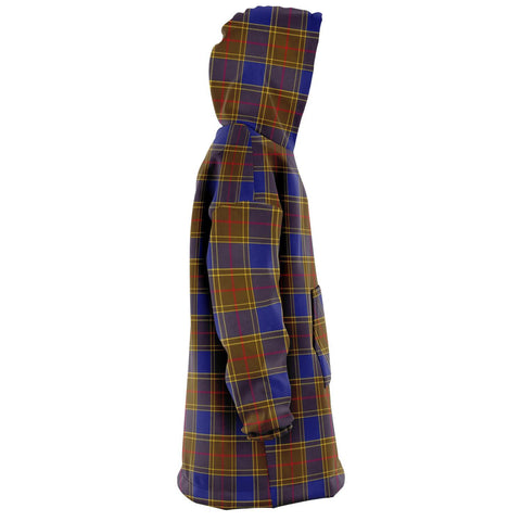 Balfour Modern Snug Hoodie - Unisex Tartan Plaid Right