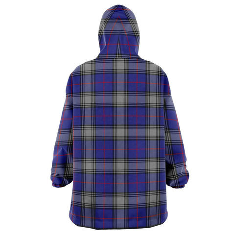 Image of Kinnaird Snug Hoodie - Unisex Tartan Plaid Back