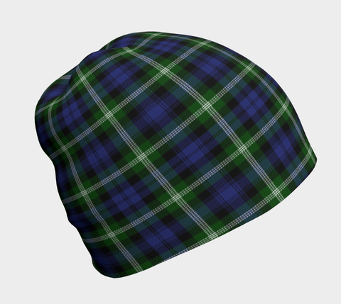 Baillie Modern  Tartan Beanie Clothing and Apparel