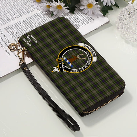 Davidson Tulloch Dress Crest Tartan Zipper Wallet™