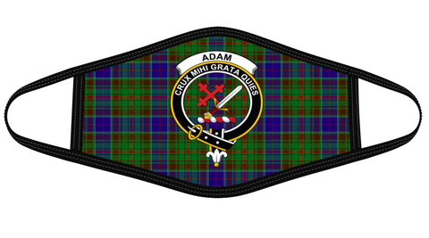 Adam Clan badge Tartan Mask K7