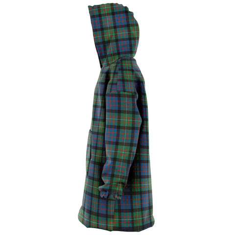 Image of MacDonnell of Glengarry Ancient Snug Hoodie - Unisex Tartan Plaid Left