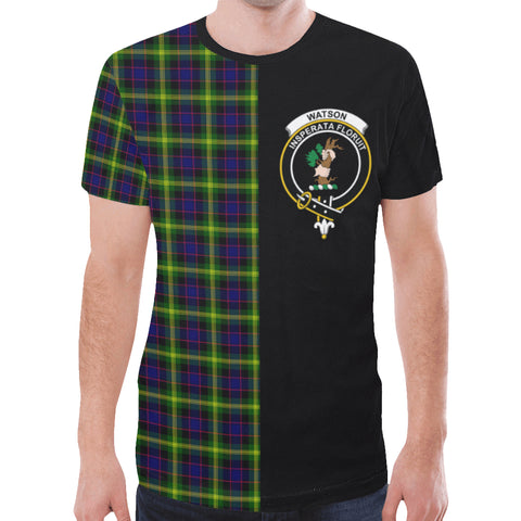 Watson Modern T-shirt Half In Me | scottishclans.co