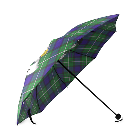 Image of Alexander Crest Tartan Umbrella TH8