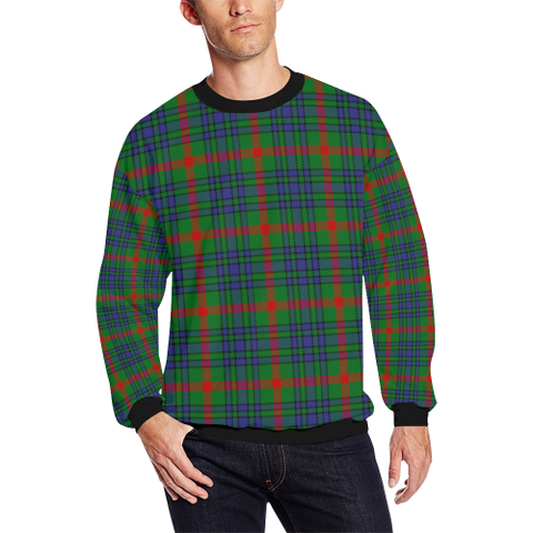 Aiton Tartan Crewneck Sweatshirt TH8