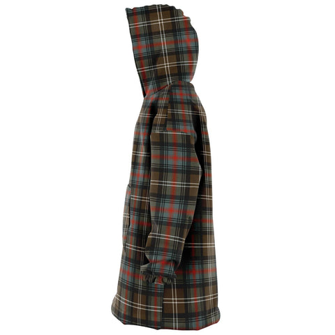 Sutherland Weathered Snug Hoodie - Unisex Tartan Plaid Left