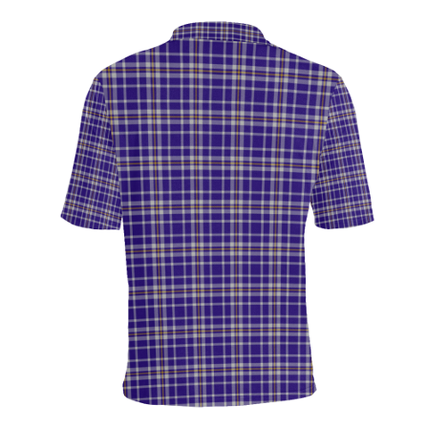 Ochterlony Tartan Clan Badge Polo Shirt HJ4