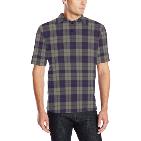 Cunningham Dress Blue Dancers  Tartan Polo Shirt
