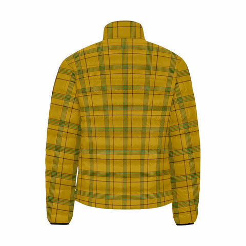Houston Clan Scotland Tartan  Men's Lightweight Bomber Jacket K9