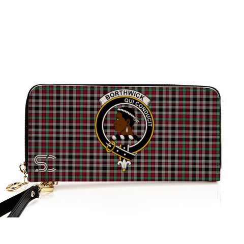 Borthwick Ancient Crest Tartan Zipper Wallet