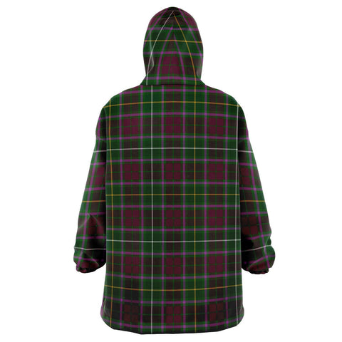 Crosbie Snug Hoodie - Unisex Tartan Plaid Back