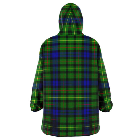 Image of Rollo Modern Snug Hoodie - Unisex Tartan Plaid Back