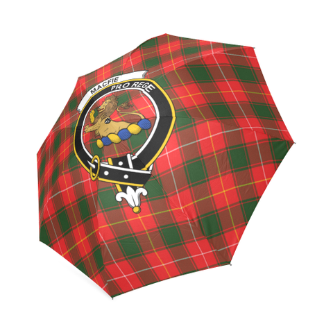 Macfie Crest Tartan Umbrella TH8
