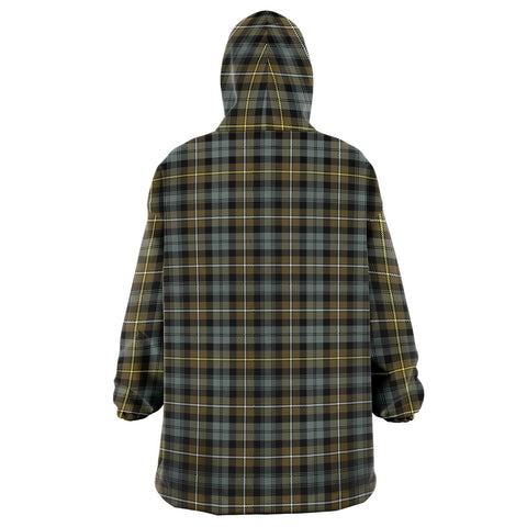 Campbell Argyll Weathered Snug Hoodie - Unisex Tartan Plaid Back