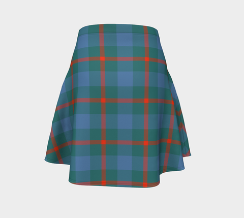 Tartan Flared Skirt - Agnew Ancient |Over 500 Tartans | Special Custom Design | Love Scotland