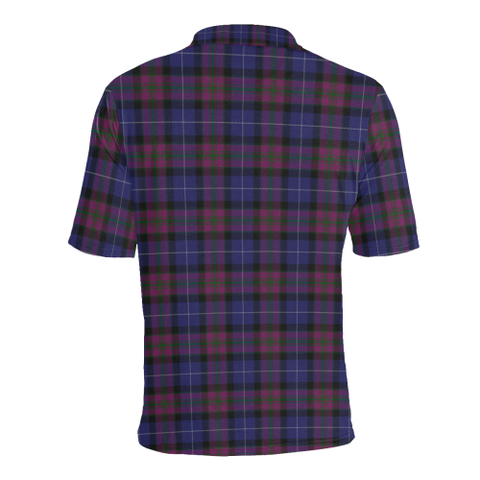 Pride of Scotland Tartan Polo Shirt HJ4