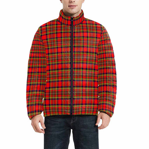Hepburn Clan Scotland Tartan  Men's Lightweight Bomber Jacket K9
