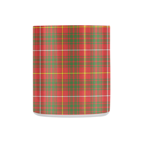 Image of Bruce Modern  Tartan Mug Classic Insulated - Clan Badge K7