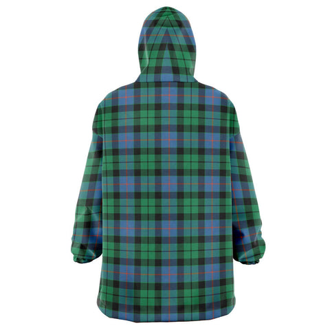 Morrison Ancient Snug Hoodie - Unisex Tartan Plaid Back