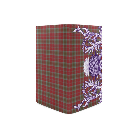 Lindsay Weathered Tartan Wallet Women's Leather Thistle A91
