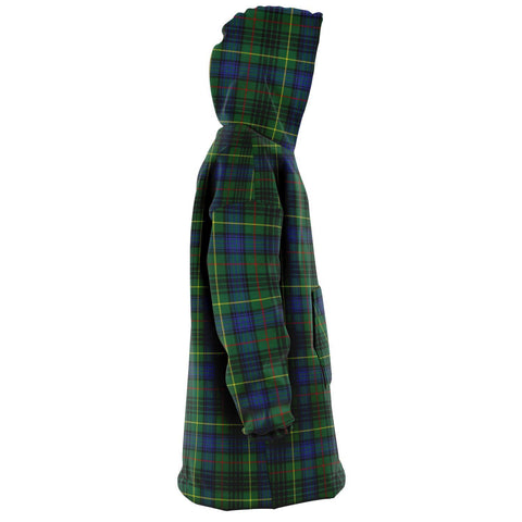 Image of Stewart Hunting Modern Snug Hoodie - Unisex Tartan Plaid Right