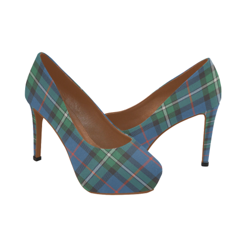 Image of Macphail Hunting Ancient Tartan High Heels, Macphail Hunting Ancient Tartan Low Heels