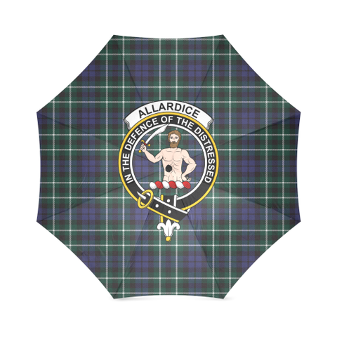 Image of Allardice Crest Tartan Umbrella TH8