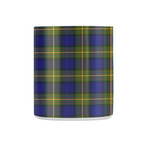 Image of Muir Tartan Mug Classic Insulated - Clan Badge K7