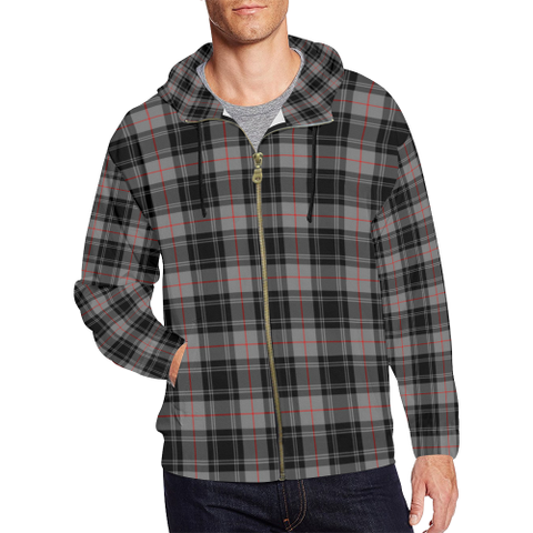 Moffat Modern Tartan Zipped Hoodie | Special Custom Products