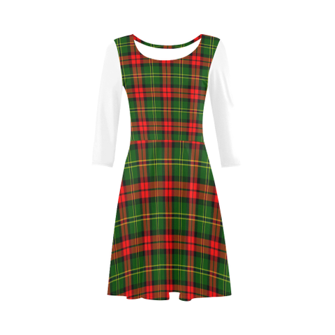 Image of Blackstock Tartan 3/4 Sleeve Sundress | Exclusive Over 500 Clans
