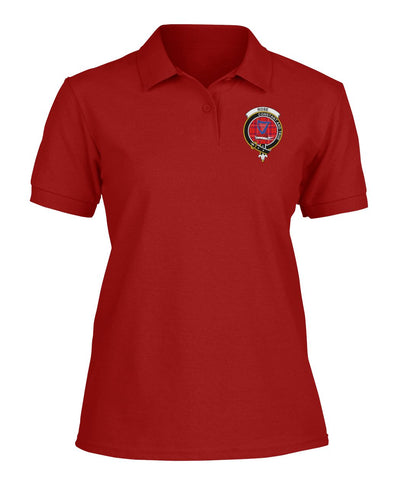 Image of Rose Tartan Polo Shirts for Men and Women A9