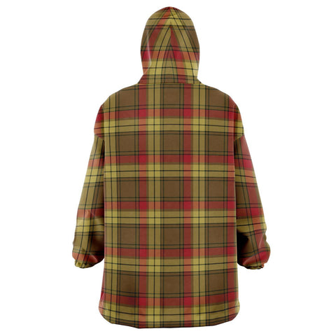 Image of MacMillan Old Weathered Snug Hoodie - Unisex Tartan Plaid Back
