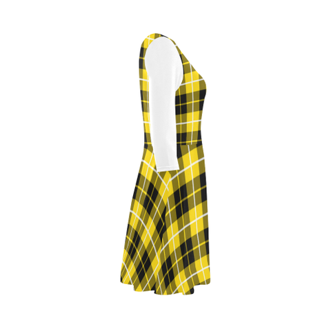 Barclay Dress Modern Tartan 3/4 Sleeve Sundress | Exclusive Over 500 Clans