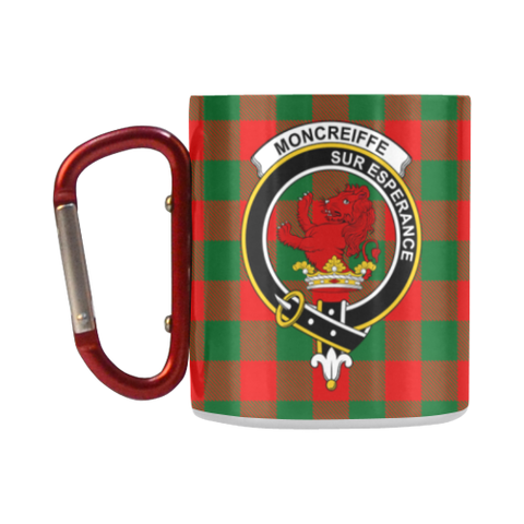 Image of Moncrieffe Tartan Mug Classic Insulated - Clan Badge K7