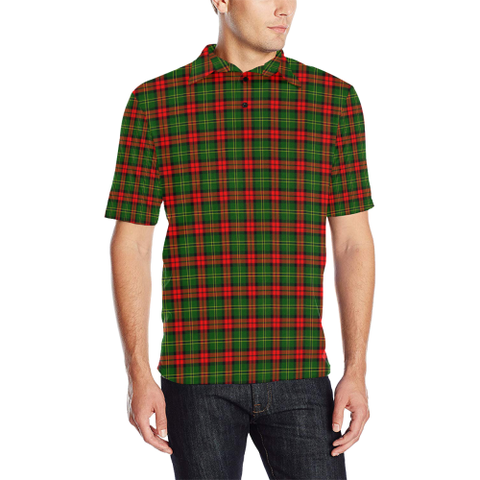 Image of Blackstock Tartan Polo Shirt
