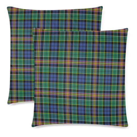 Allison decorative pillow covers, Allison tartan cushion covers, Allison plaid pillow covers