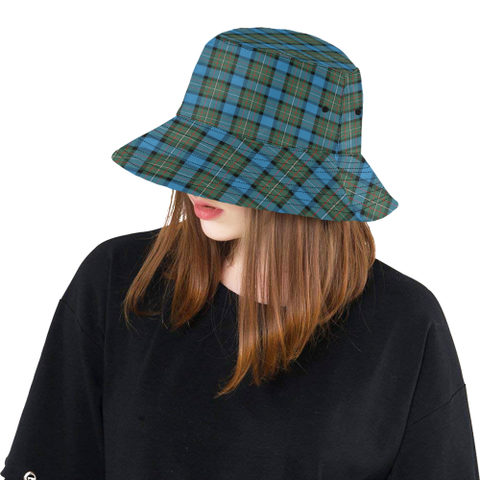 Image of Fergusson Ancient Tartan Bucket Hat for Women and Men K7