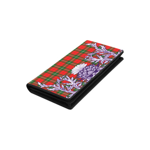 Lennox Modern Tartan Wallet Women's Leather Wallet A91 | Over 500 Tartan