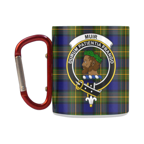 Muir Tartan Mug Classic Insulated - Clan Badge K7