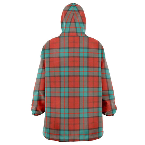 Image of Dunbar Ancient Snug Hoodie - Unisex Tartan Plaid Back